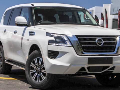 Nissan Patrol Y62 5.6L V8
