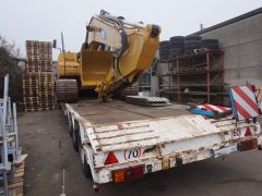 Caterpillar 320 DL   Tracks import / export