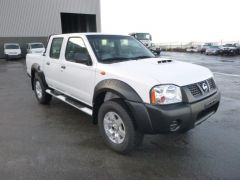 Nissan NP300 HARDBODY DOUBLE CABINE 2.5L TURBO DIESEL  SAFETY
