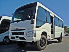 Toyota Coaster 23 SEATS 4.2L  Luxe 4X4 import / export