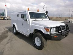 Toyota Land Cruiser 79 Pick up 4.2L DIESEL CASH IN TRANSIT BLINDÉ/ARMORED BR4+