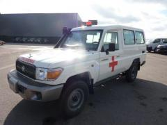 Toyota Land Cruiser 78 Metal top 4.2L   HZJ 78 Ambulance
